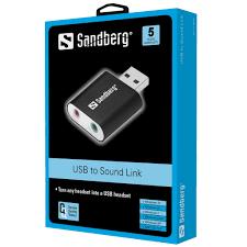 Sandberg USB to Sound Link SAVER