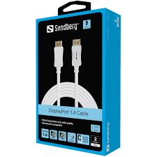 Sandberg DisplayPort 1.4 8K60Hz 2m
