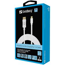 Sandberg DP-MiniDP 1.4 8K60Hz 2m
