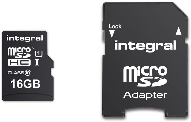 16GB Integral microSDHC- class10- Ulti