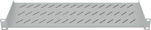 "19"" Cantilever Shelf, 1U, 2-Point Front"