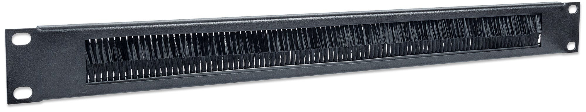 """19"""" Cable Entry Panel, 1U, with Brush In"""