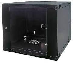 "19"" Double Section Wallmount Cabinet, 6U"