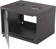 "19"" Basic Wallmount Cabinet, 6U, 400 mm"