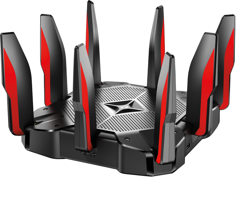 AC5400 Tri-Band Gaming Router, Broadco