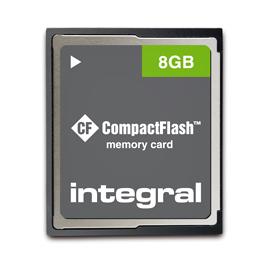 4GB Integral Compact Flash 100X / 15MB