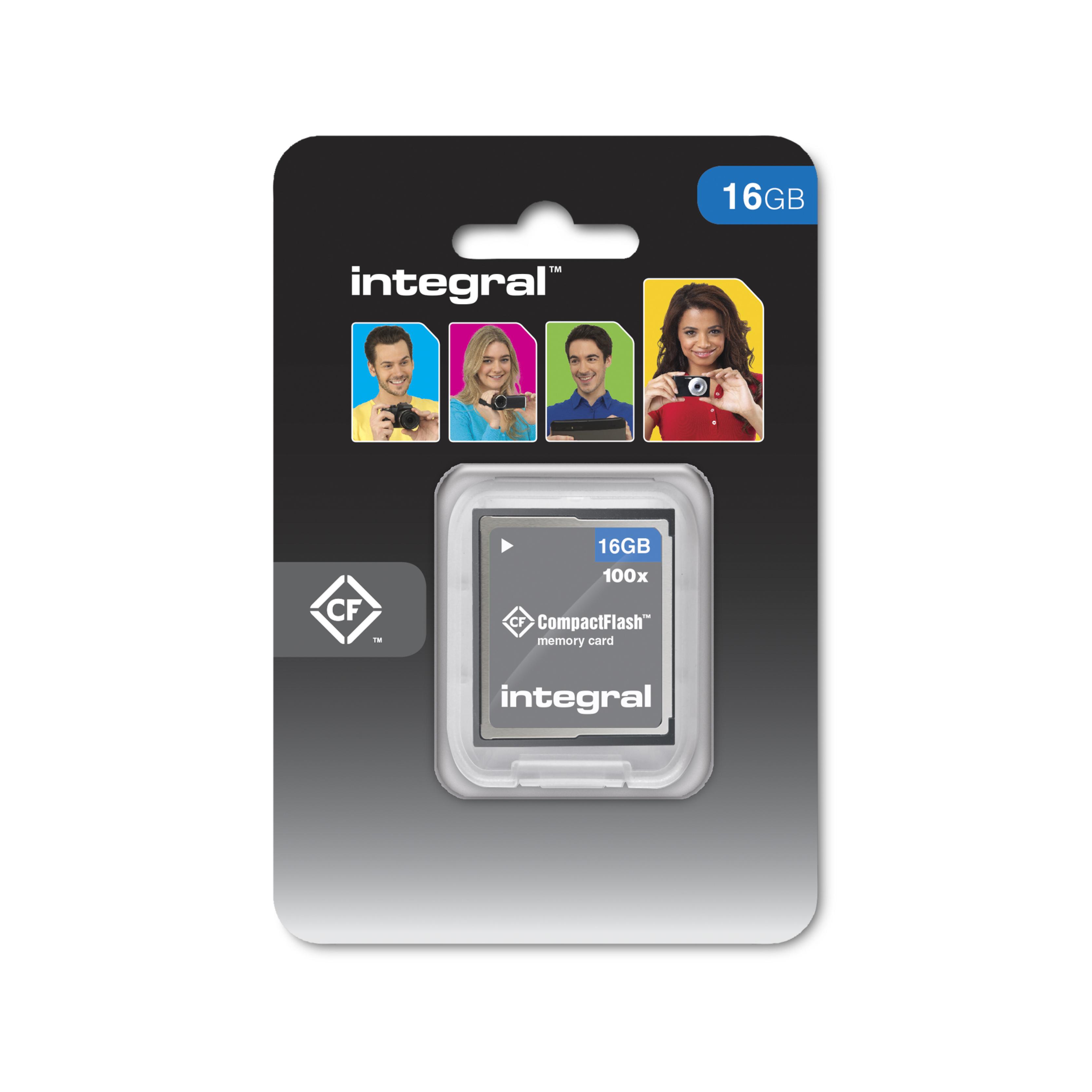 16GB Integral Compact Flash 100X / 15M