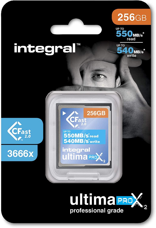 256GB Integral Ultima Pro X2 Cfast 2.0