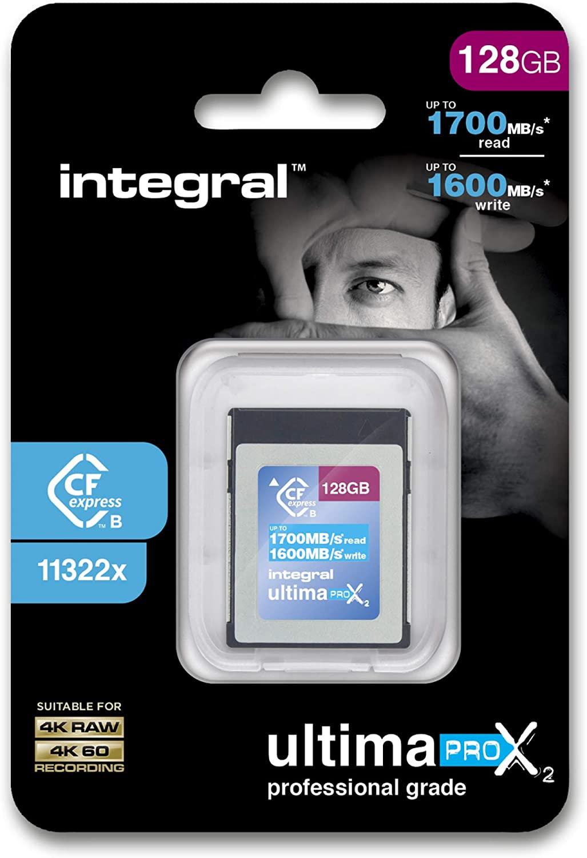128GB Integral UltimaPro X2 CFExpress