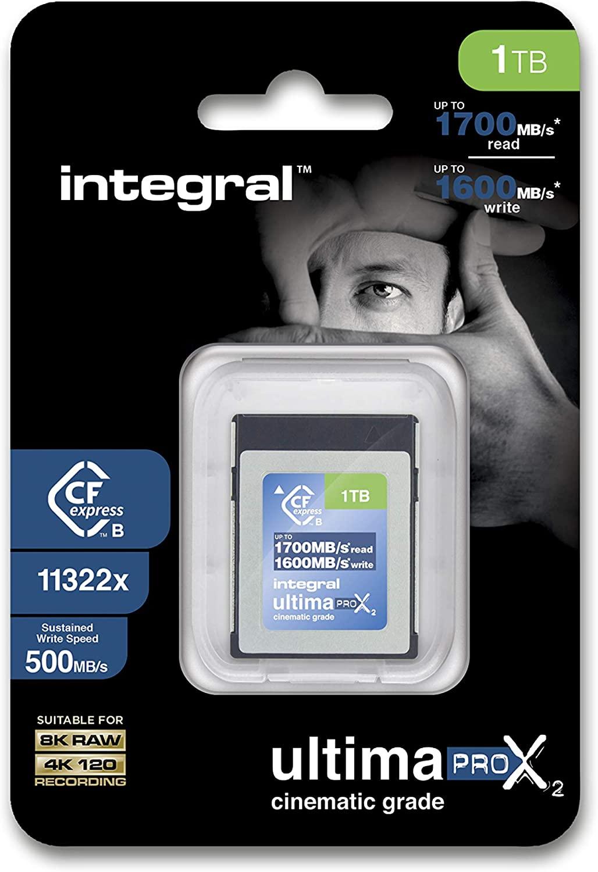 1TB Integral UltimaPro X2 CFExpress Ty