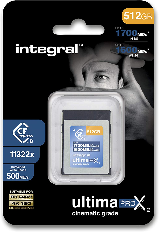 512GB Integral UltimaPro X2 CFExpress