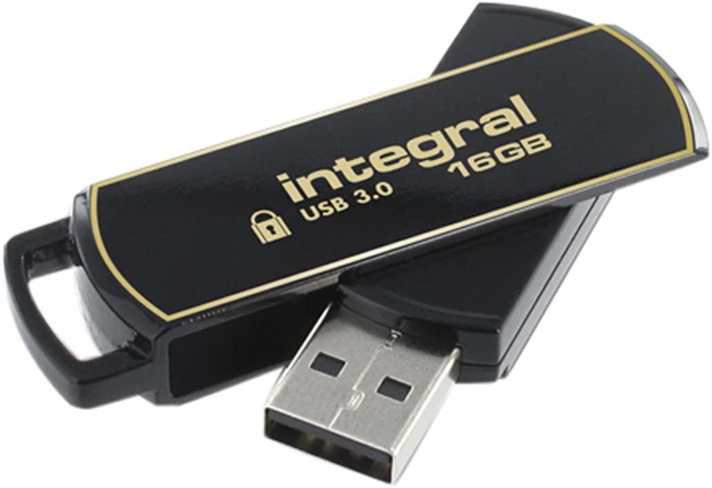 16GB Integral Secure 360 USB3.0 Flash