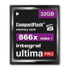 32GB Integral CompactFlash UltimaPro 8