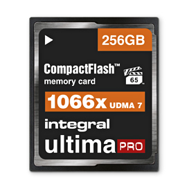 256GB Integral CompactFlash UltimaPro