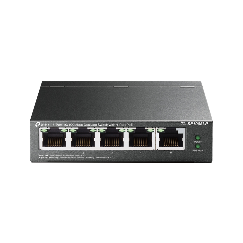 5-Port 10/100 Mbps Desktop Switch with