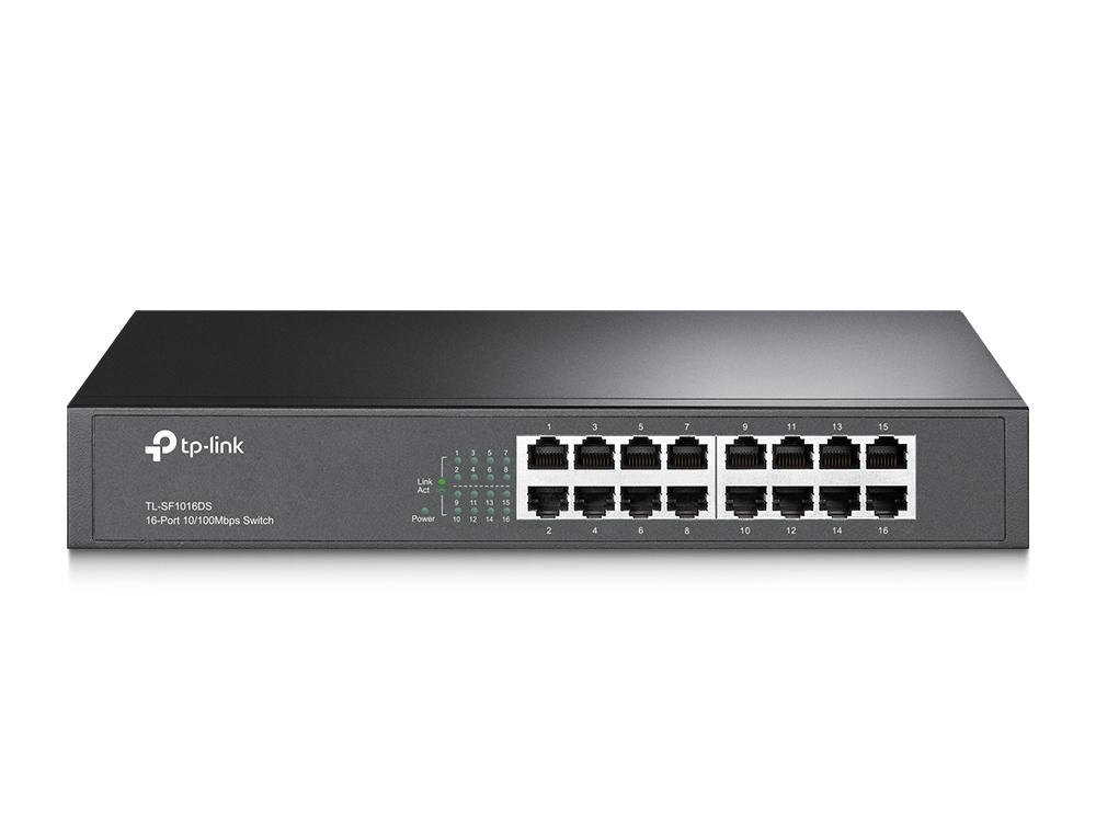 16-port 10/100M Switch, 16 10/100M RJ4