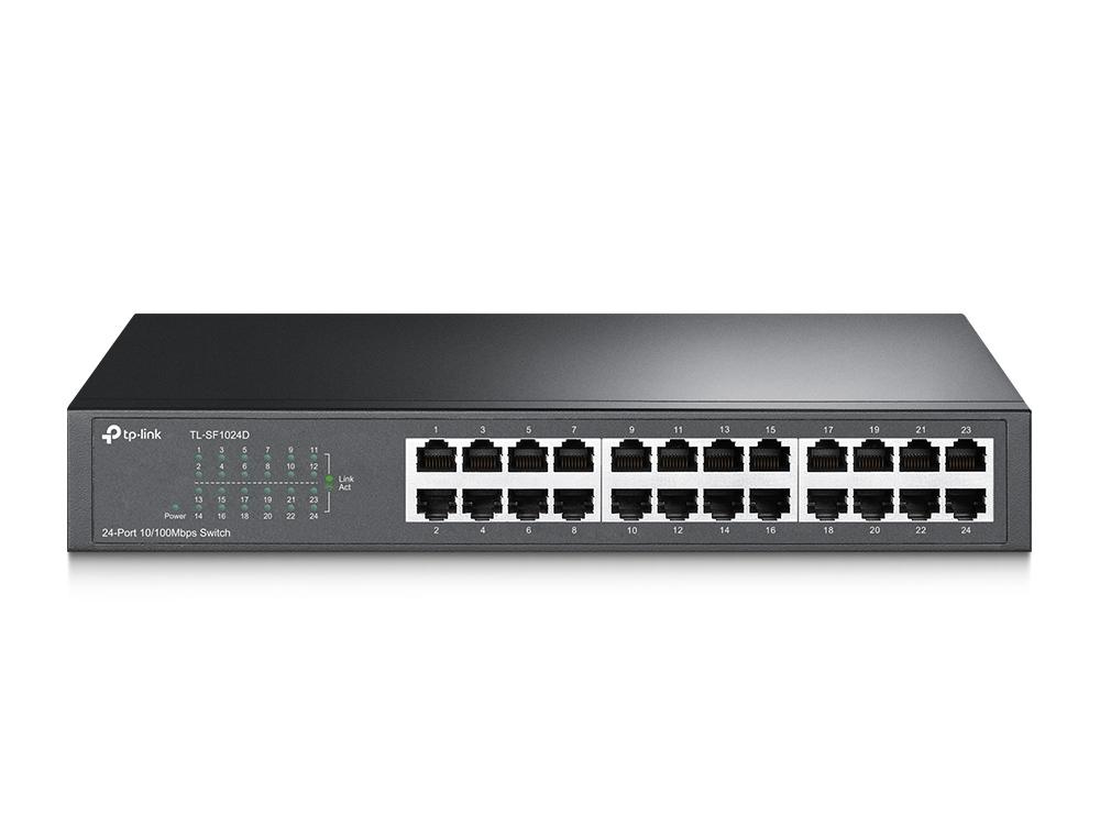 24-port 10/100M Switch, 24 10/100M RJ4