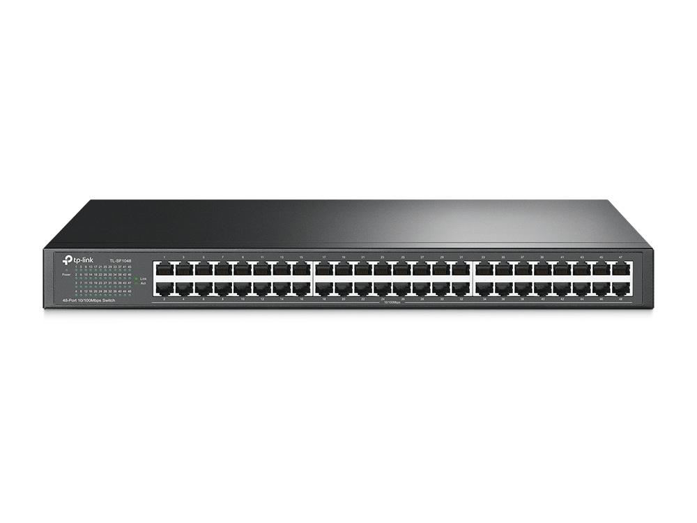 48-port 10/100M Switch, 48 10/100M RJ4