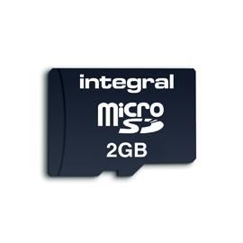 2GB Integral microSD card inclusief SD